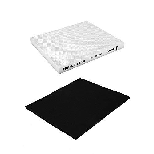 Professionelle Ersatz Luftreiniger Filter Universal Design für Coway/AP 1512HH Haushalt Gerüche Reinigungswerkzeug - White & Black