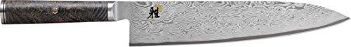 Miyabi 34401-240 Kochmesser, Stahl, Silber, 37,6 x 5 x 2 cm