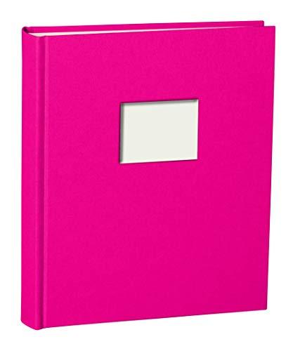 Semikolon - Album fotografico medio'Finestra' rosa.