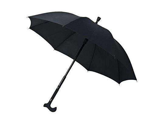 Falcone - Paraplu - Wandelstok - Combinatie - Zwart