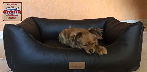 CaniMondo hondenbed Divano, Large, zwart (nero)