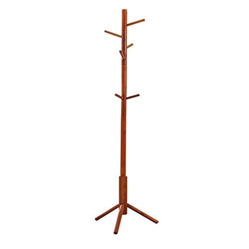 NSYNSY Ropa Sombrero Perchero Perchero Perchero Willow Black Cherry, 176cm * 40cm FENPING (Color: Exquisite-Cherry)
