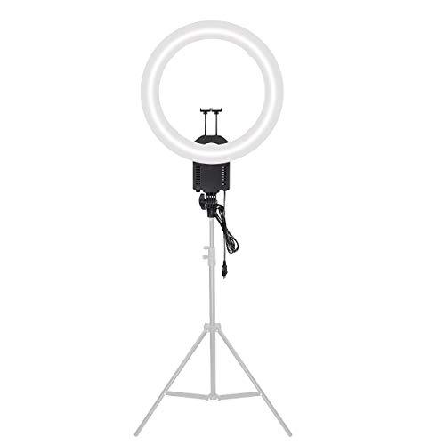 FOTGA CN-65C Tageslicht Ringleuchte 65W 5400K Continuous Foto Macro Ring Studio-Videoleuchte Day-Lampe mit Flexiblem Schwanenhals