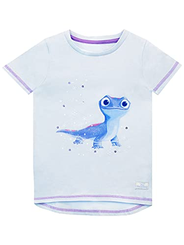 Disney Mädchen T-Shirt Frozen Bruni Blau 110