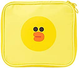 LINE FRIENDS Cosmetic Multi Bag - SALLY Character Travel Pouch for Toiletry and Makeup Dopp Kit Small