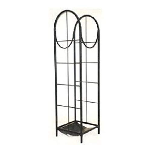 panacea products corp 15232 Black, Vertical Log Storage Rack