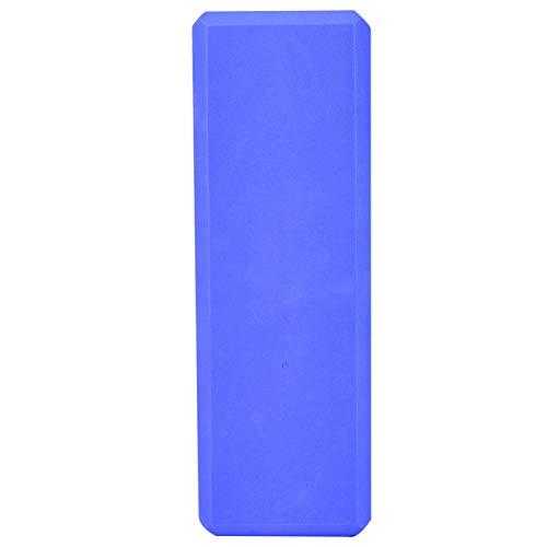 Nuobi Bloque de Yoga, Bloque de Yoga con cojín de Yoga, Entrenamiento para Ejercicio(Blue)