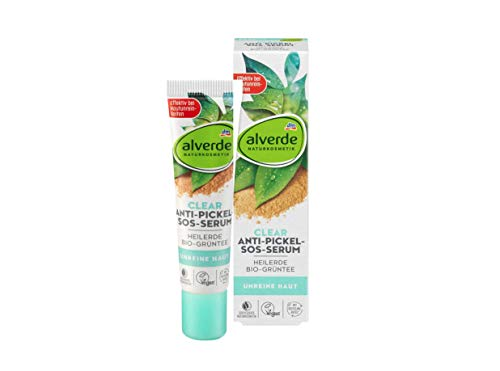 alverde Clear Anti-Pickel SOS-Serum Heilerde (15ml)