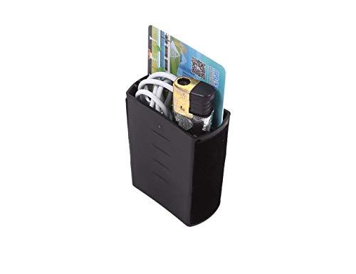Accessoire intérieur de véhicule Automobile, pour F Pace XFL 2017, Boîte de Rangement Porte-gobelets Plateau en Plastique ABS Noir, 1 pcs/Set