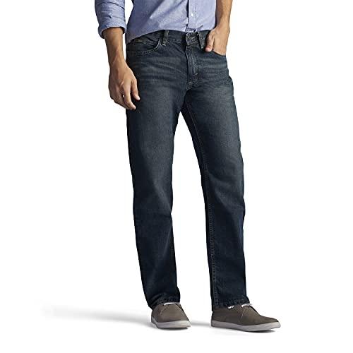 Lee Men's Big & Tall Regular Fit Straight Leg Jean