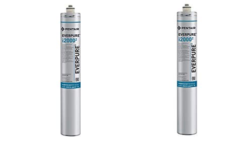 (Package Of 2) Everpure Insurice I2000-2 Replacement Water Filters EV9612-22