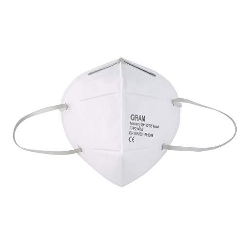 GreceMonday No FFP3 -FFP2 Protección facial desechable antipolvo, antivaho y antipolución