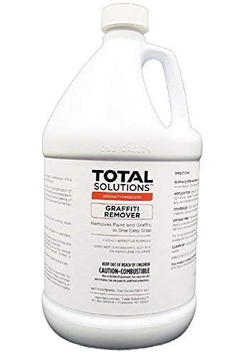 Total Solutions Graffiti Remover | Powerful Cleaning Formula Capable of