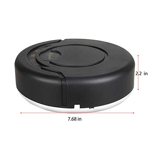 Read About Pro Robotic Vacuums,BCDshop Rechargeable Automatic Smart Cleaner Sweeping Robot Strong Su...