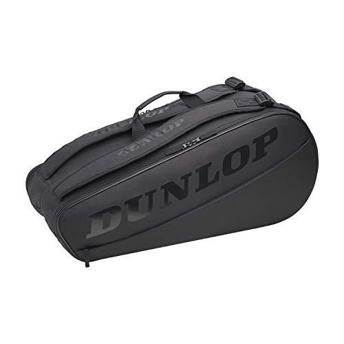 Dunlop Sports Unisex's 2021 CX Club - Bolsa de tenis (6 unidades), color negro y negro