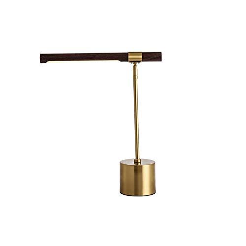 Hout Eye LED-Lamp, Een Metalen Cilinder Is Ontworpen Voor Het Trekken Plateren Levende Leeslamp Studie