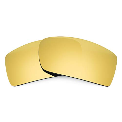 Revant Lentes de Repuesto Compatibles con Gafas de Sol Spy Optic HSX, Polarizados, Elite Dorado MirrorShield