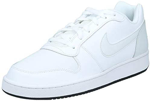 Nike Ebernon Low, Scarpe da Basket Uomo, Multicolore (White/off White/Black 101), 45.5 EU