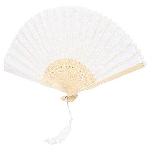 Abanico plegable de baile, abanico de mano plegable de mano, para mujeres, decoración de fiestas,...