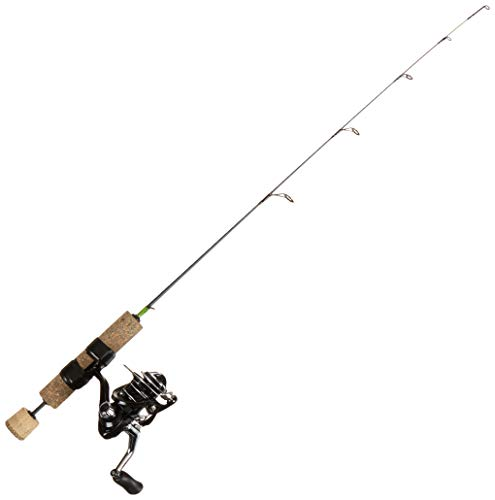 Frabill Unisex's COMBO SPIN ICE HUNTER FINESSE 27 QUICK TIP Fishing Rod &...