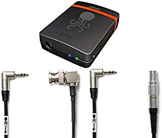 Tentacle Sync E Timecode Generator with Bluetooth Bundle with C02 3.5mm to 5-Pin LEMO & C08 3.5mm to BNC Sync Cables