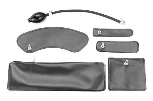 Craft-Equip 6 tlg. Spreizkissen Set Montage Luftkissen Türspreizer Montagehilfe
