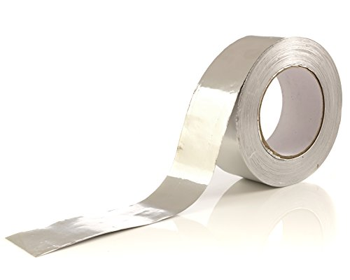Aluminum Tape/Aluminum Foil Tape - 1.9 inch x 150 feet (3.4 mil) - Good for HVAC, Ducts, Insulation and More