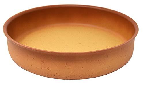 Cazuela horno Amercook Terracotta (28 cm) para horno y todo tipo de cocinas, incluida inducción. Acabado resistente y recubierto con polvo de piedra. Sin PFOA