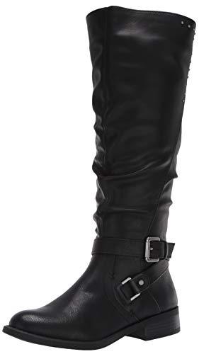 WHITE MOUNTAIN Shoes Liona Women's Boot, Black/Burn/SM, 8H M