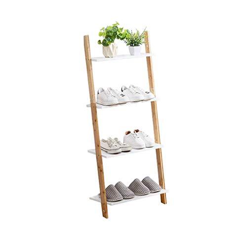 HLL Estante de pared minimalista nórdico, esquina de dormitorio, estante de almacenamiento trapezoidal creativo, estante de zapatos, estante de flores, estante de almacenamiento de múltiples capas,70
