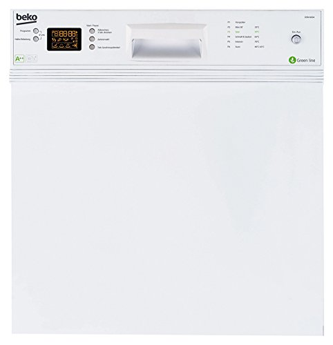 Beko DSN 6634 Teilintegrierbarer Geschirrspüler / A++ / 261 kwh/Jahr / 10 Liters / 59.8 cm Breite / Weiß / Waterstop / Großes Display /...
