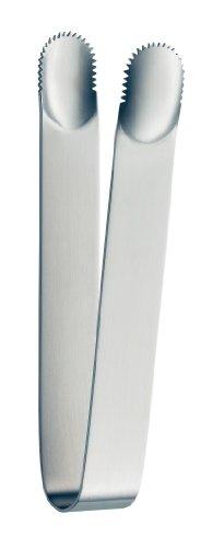 alfi 0016.000.000 Eiszange, Edelstahl mattiert, als Eiswürfelzange oder als Zuckerzange für die Candybar