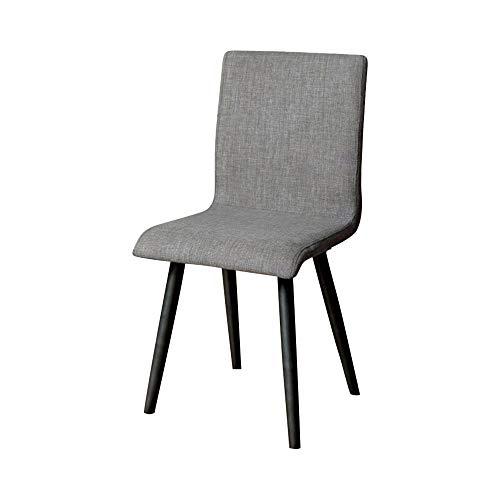 William's Home Furnishing CM3360SC-2PK Vilhelm I Side Chair, Gray