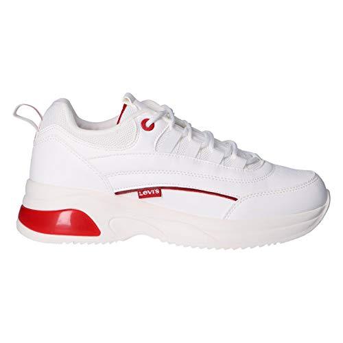 Levi's Zapatillas Deporte Vche0030s Chelsea 0061 White 39 para Mujer y Niña y Niño