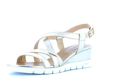 NERO GIARDINI zapatos mujer sandalias cuña P908161D