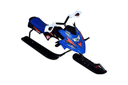 xelba Snow Racer blauw slee met rem Bob slee