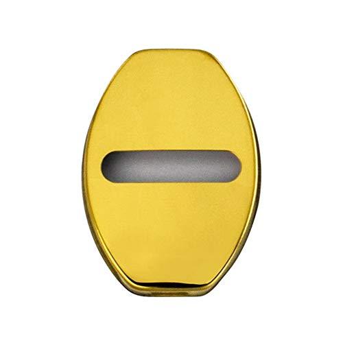 ZHHRHC Cubierta de protección de Cerradura de Puerta de Coche, CubiertaDecorativa con Hebilla de Bloqueo, para Audi S Line A1 A3 A4 A4L A5 A6L A6 A8 B4 B5 B6 B7 B8 TT Q7 Q5