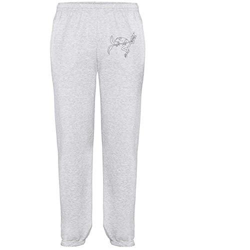 Azeeda Groß 'Laubfrosch' Grau Joggeurs adultes / Pantalons de survêtement / Fonds (JO00051035)