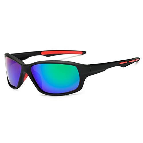 Long Keeper Gafas de Sol Polarizadas Deportes Hombre Mujer Gafas de Ciclismo...