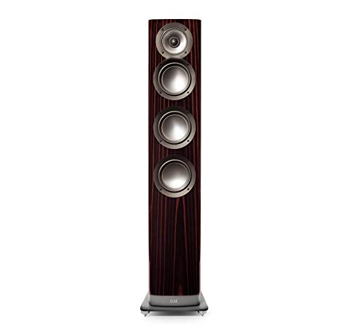 Purchase Elac ARF-51-GE Navis Premium Powered Floorstanding Tower Speakers - (Each) Gloss Ebony Emar...