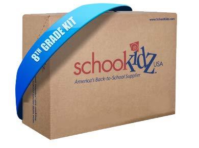 8th Grade School Supply Kit
