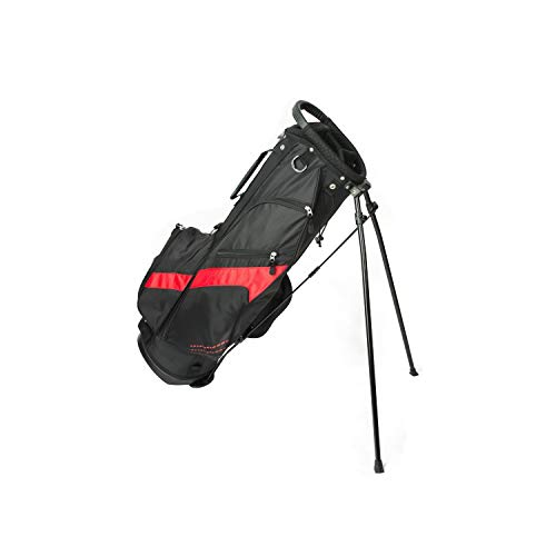 Tour X SS Golf Stand Bags-Black/Red
