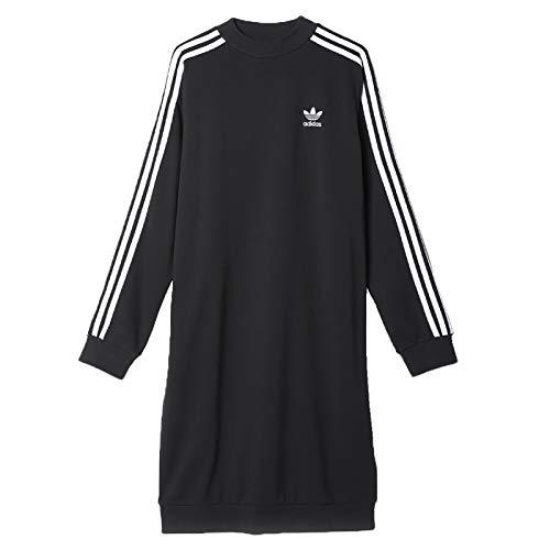 adidas 3 Stripes Crew W Kleid 34 black