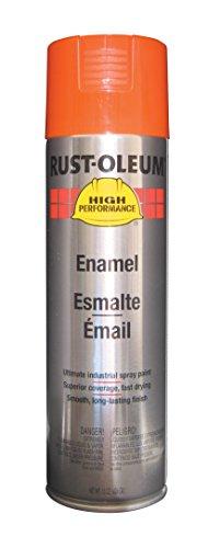 Rust-Oleum V2156838 V2100 System Farm Equipment Spray Paint, 20-Ounce, Equipment Orange, 6-Pack