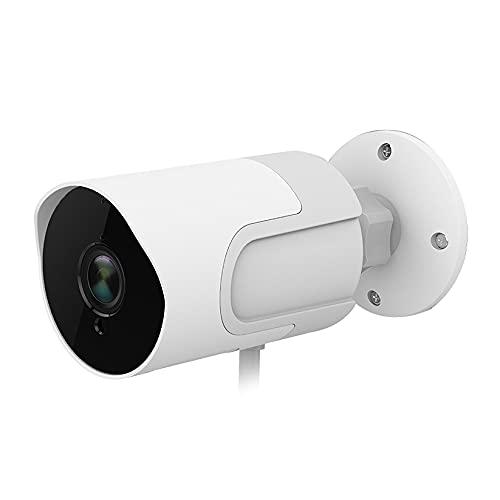 KANGLE-DERI Cámara al Aire Libre Full HD 1080p Tarjeta Seguridad Vigilancia Cámara Visión Nocturna a Prueba de Noche