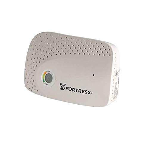 Fortress Cordless Rechargeable Dehumidifier, White