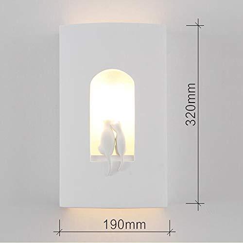 GOG Helle, moderne minimalistische kreative geführte Pflaster-Wand-Wohnzimmer-Gang-dekorative Schlafzimmer-Nachtwand gesund und umweltfreundlich schützen die Augen
