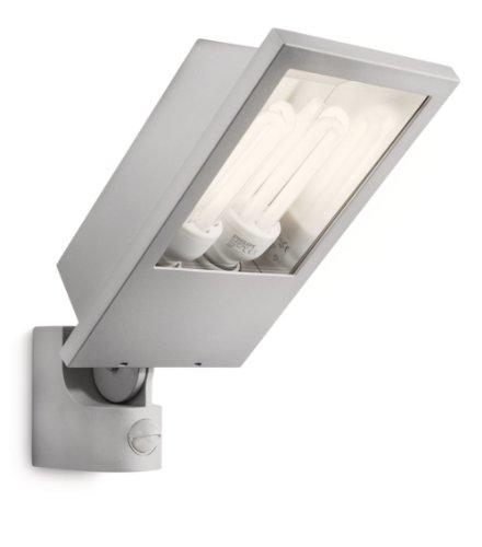 Philips luminaire extérieur projecteur avec détection Botanic gris