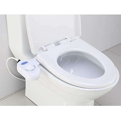 Wc-sitze automatisch beheizt intelligenter beheizter toilettensitz Luxe Bidet süßwasser nichtelektrisches mechanisches Bidet wc-sitzbefestigung Starkes wasserhahnventil und metallschlauch