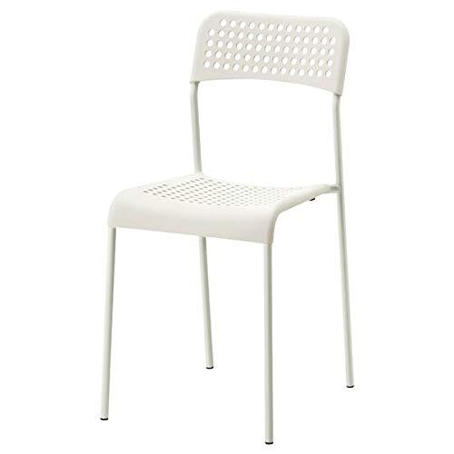MELLTORP/ADDE stół i 2 krzesła, kolor biały, 75 cm, trwały i łatwy w utrzymaniu. Zestawy do jadalni do 2 siedzeń. Zestawy do jadalni, stoły i biurka, meble. Przyjazne dla środowiska.